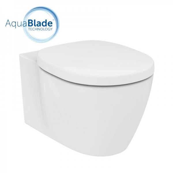 Ideal Standard Connect Wand-Tiefspül-WC, AquaBlade 365x540x340 mm weiß