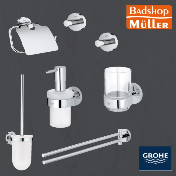 All IN ONE Grohe Essentials Bad-Set